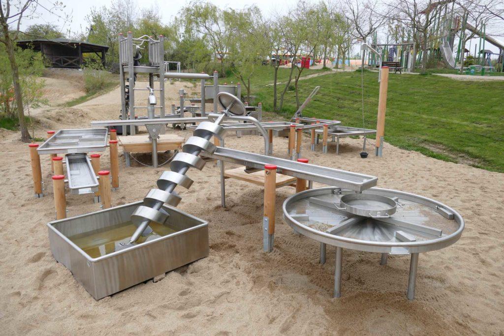 Sonnenlandpark Lichtenau Wasserspielplatz