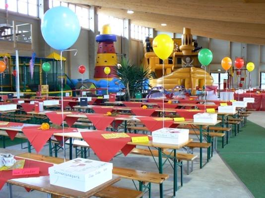 Schulanfangsparty Sonnenlandpark Lichtenau