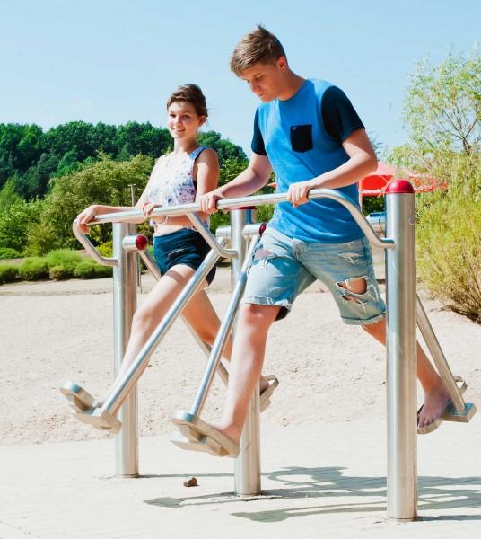 Fitness Parcours im Sonnenlandpark Lichtenau