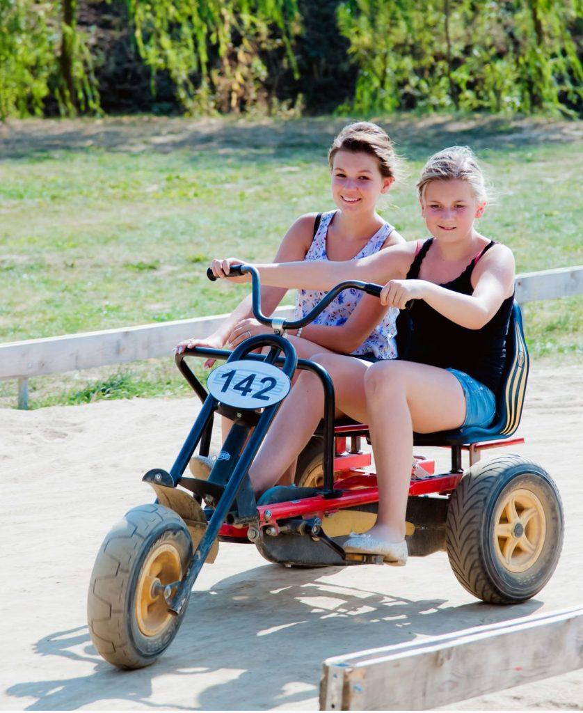 Kettcars im Sonnenlandpark Lichtenau