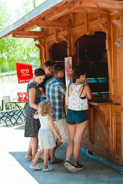 Kiosk im Sonnenlandpark