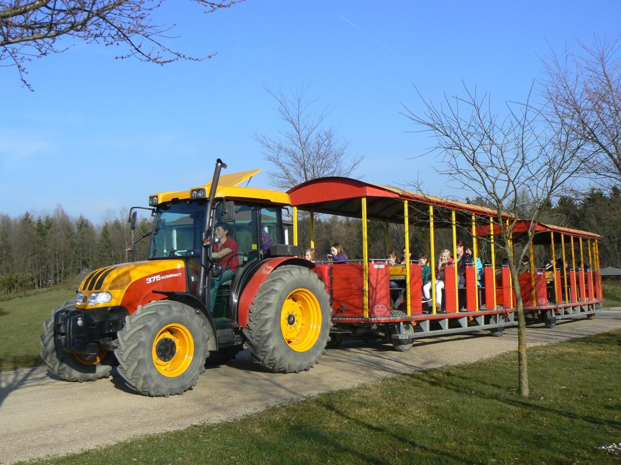 der Parkbahn Anton