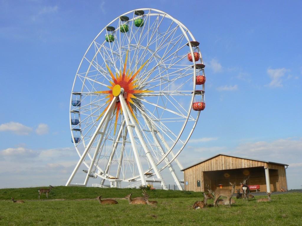 Riesenrad Sonnenlandpark Lichtenau Entfernung