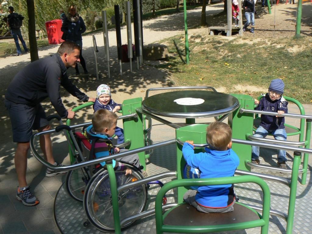 Rollstuhlkarussell