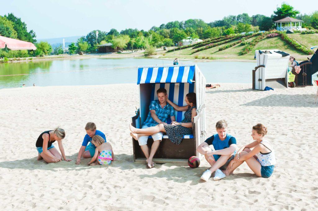 Strandkorb Sonnenlandpark Lichtenau