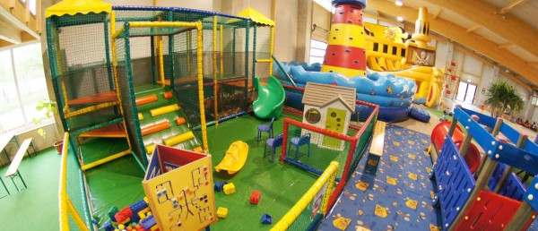 Indoor Spielplatz Sonnenlandpark