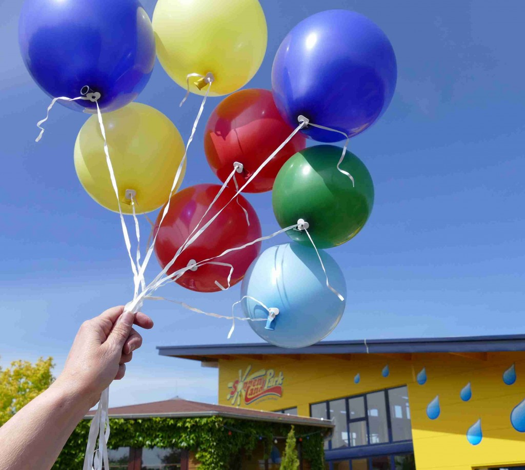 Party Ballons im Sonnenlandpark