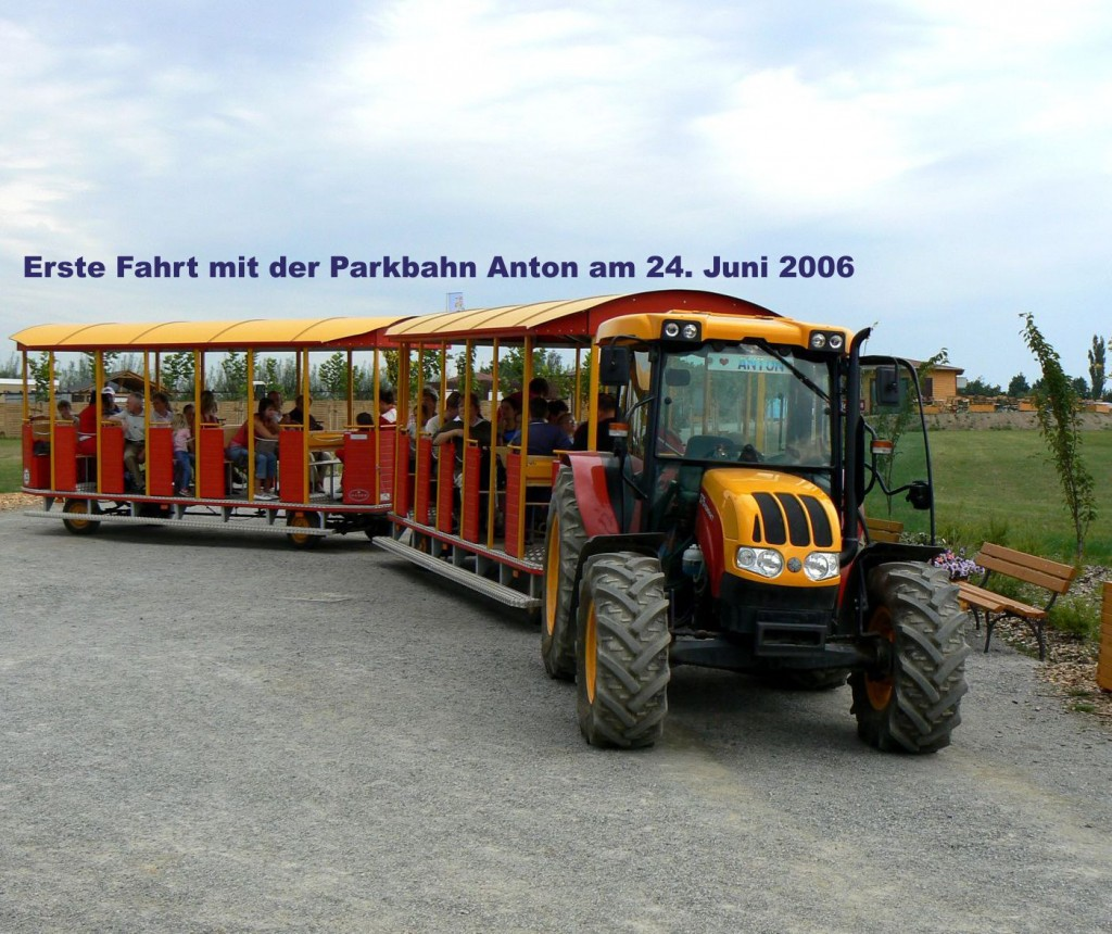 Erste Fahrt Anton 2006