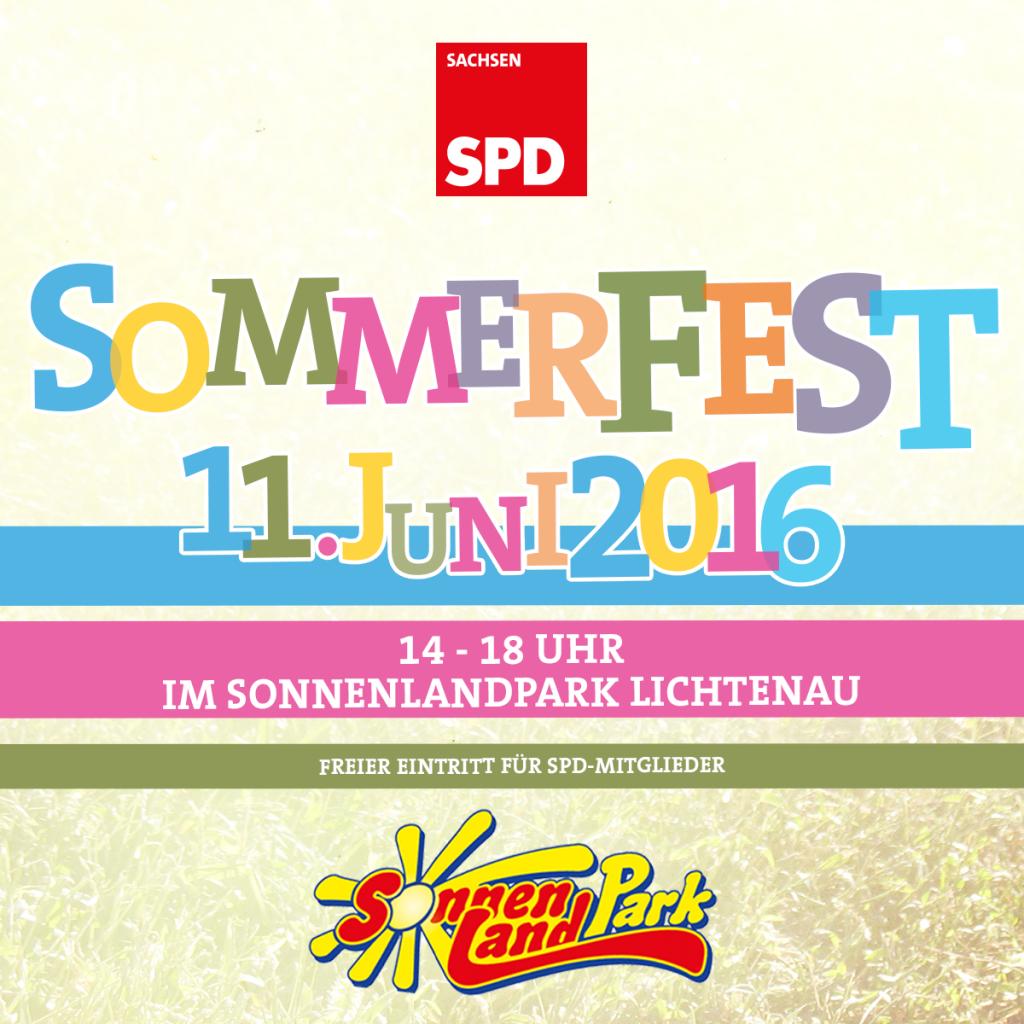 SPD Sommerfest im Sonnenlandpark