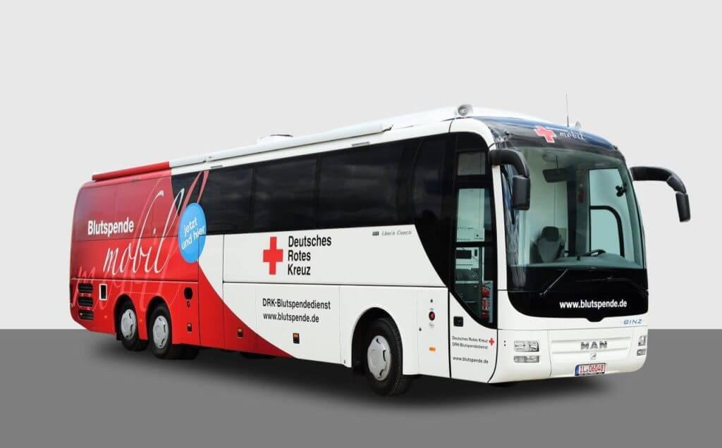 DRK Blutspendebus