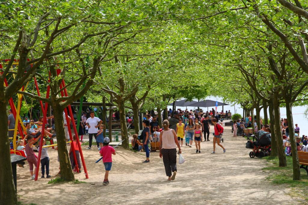 Erholung in der Natur im Sonnenlandpark bei Chemnitz