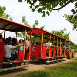 Parkbahn Anton auf Tour