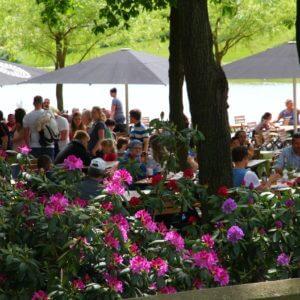 Biergarten im Sonnenlandpark