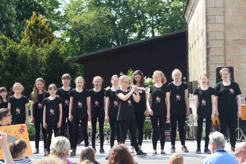 Schulen musizieren im Sonnenlandpark