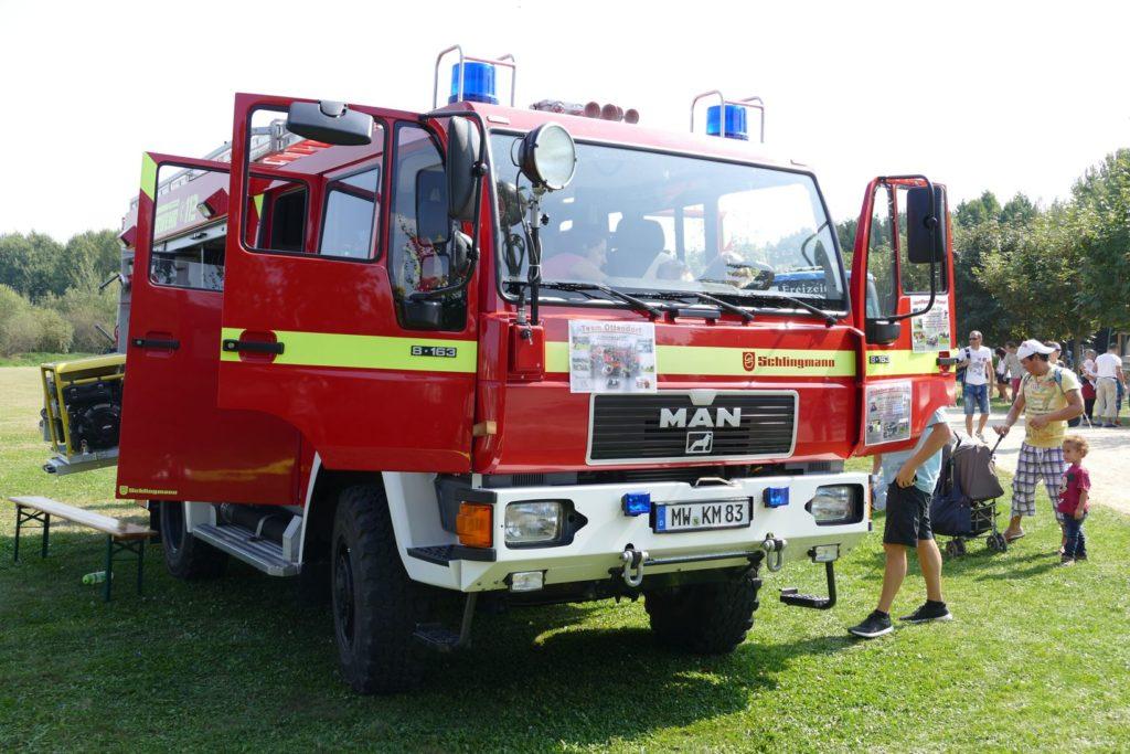 Parkgeburtstag und Feuerwehr