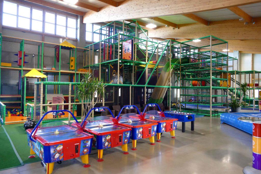 Indoorspielplatz im Sonnenlandpark