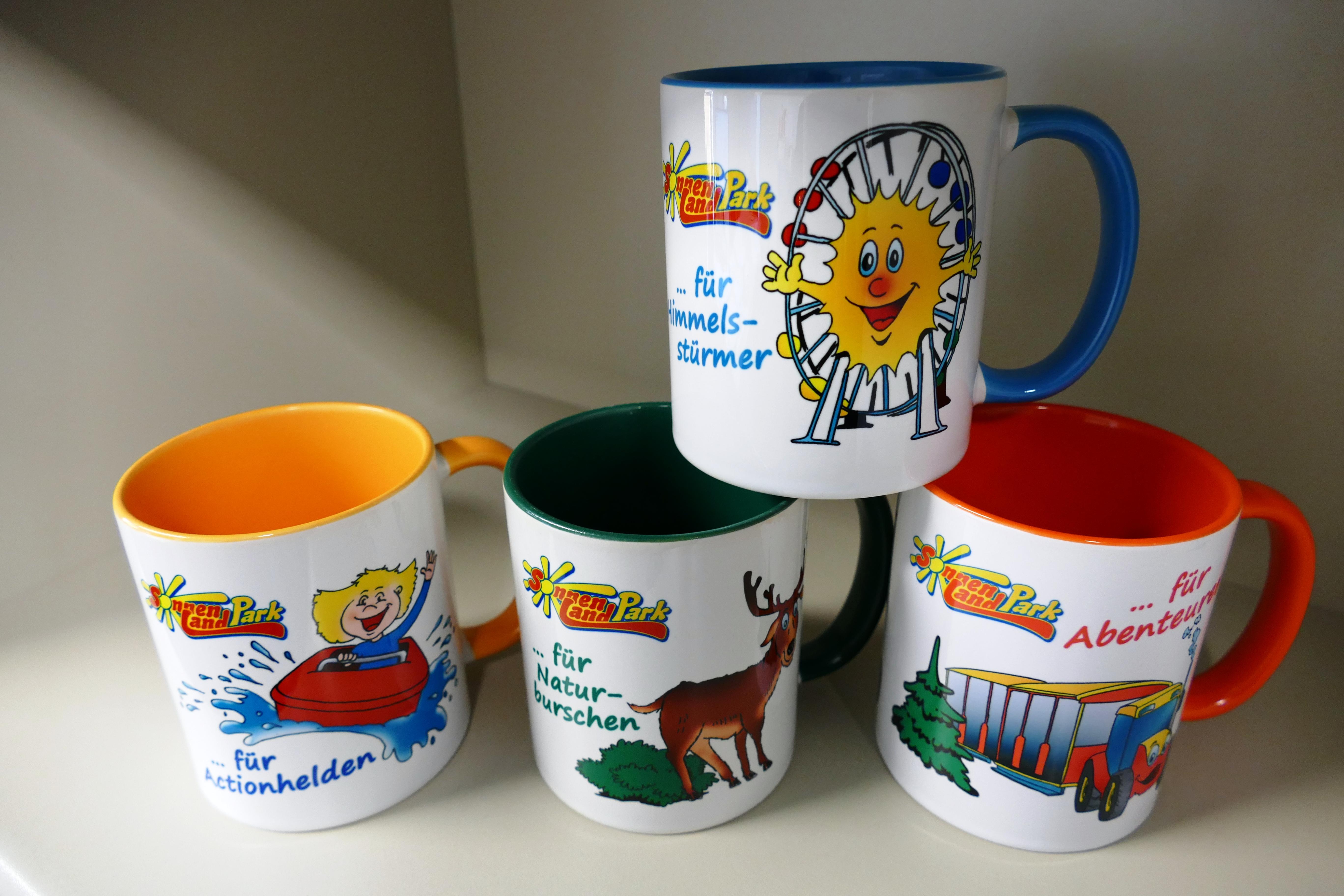 Tassen vom Sonnenlandpark