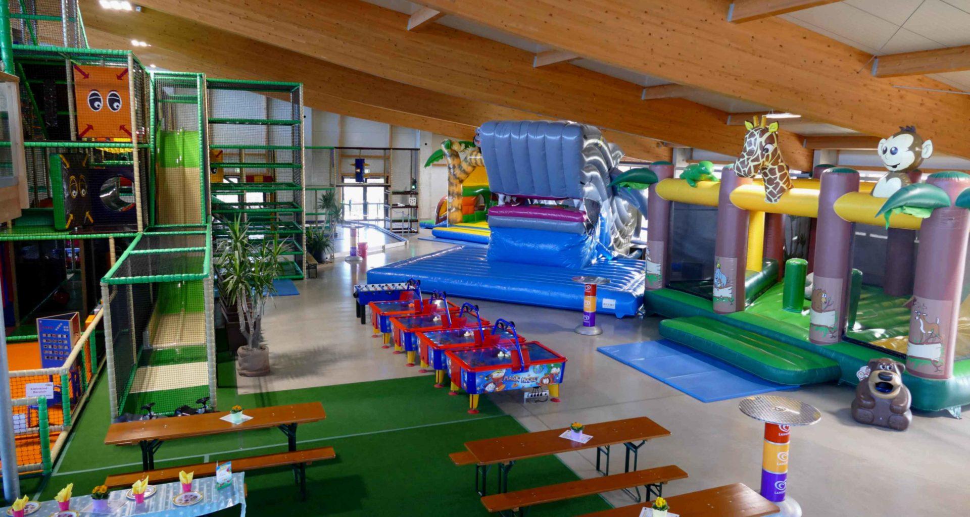 Indoorspielplatz Sonnenlandpark Lichtenau