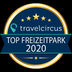 Siegel für Top Freizeitpark 2020