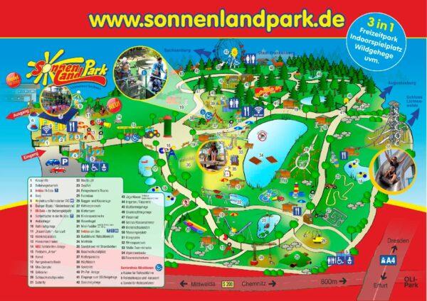 Parkplan Sonnenlandpark